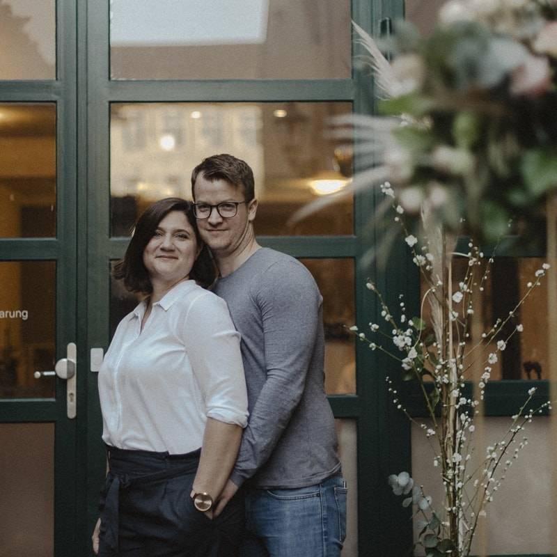 Nadine Schreiber und Maximilian Greif